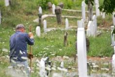 Gravedigger in Novi Pazar.