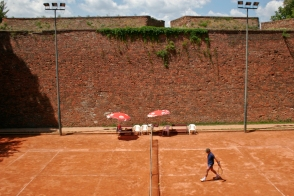 Tennis in Belgrade.