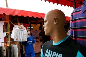 Mannequin in the pijaca.