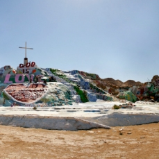 "Leonard Knight's ""Salvation Mountain"""
