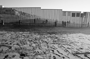 The U.S./Mexico Border at the Pacific Ocean