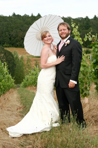 Brad & Bethany's Wedding, Illahe Vineyards, Dallas, OR