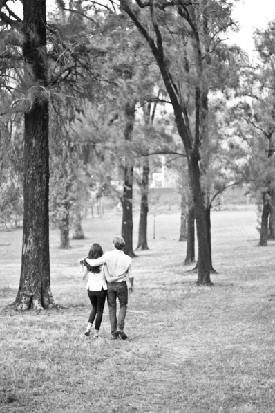Nick & Katie's Engagement, Baha'i Temple Grounds, Uganda