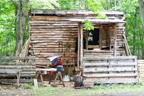 Alan's cabin.