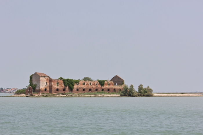 On the way to Murano.